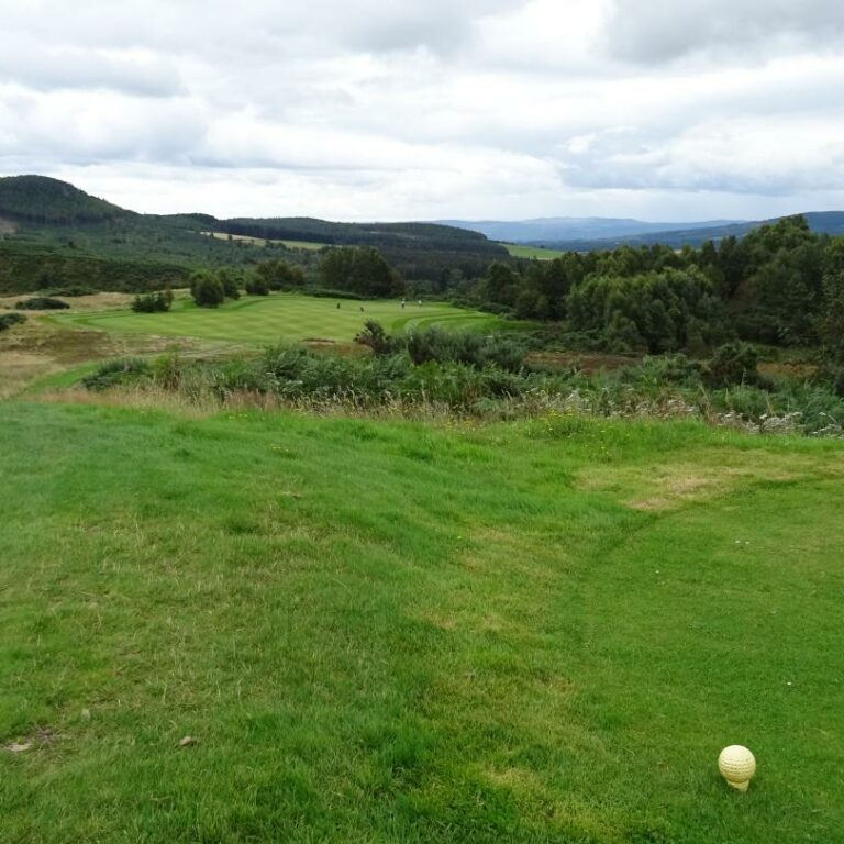 The challenging 11th hole
