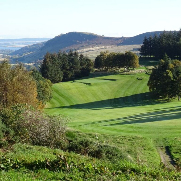 The 8th hole seen from the medal tee